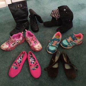Size 11 Girl's Lot of Shoes 👧🏼👑!! (6 pairs)